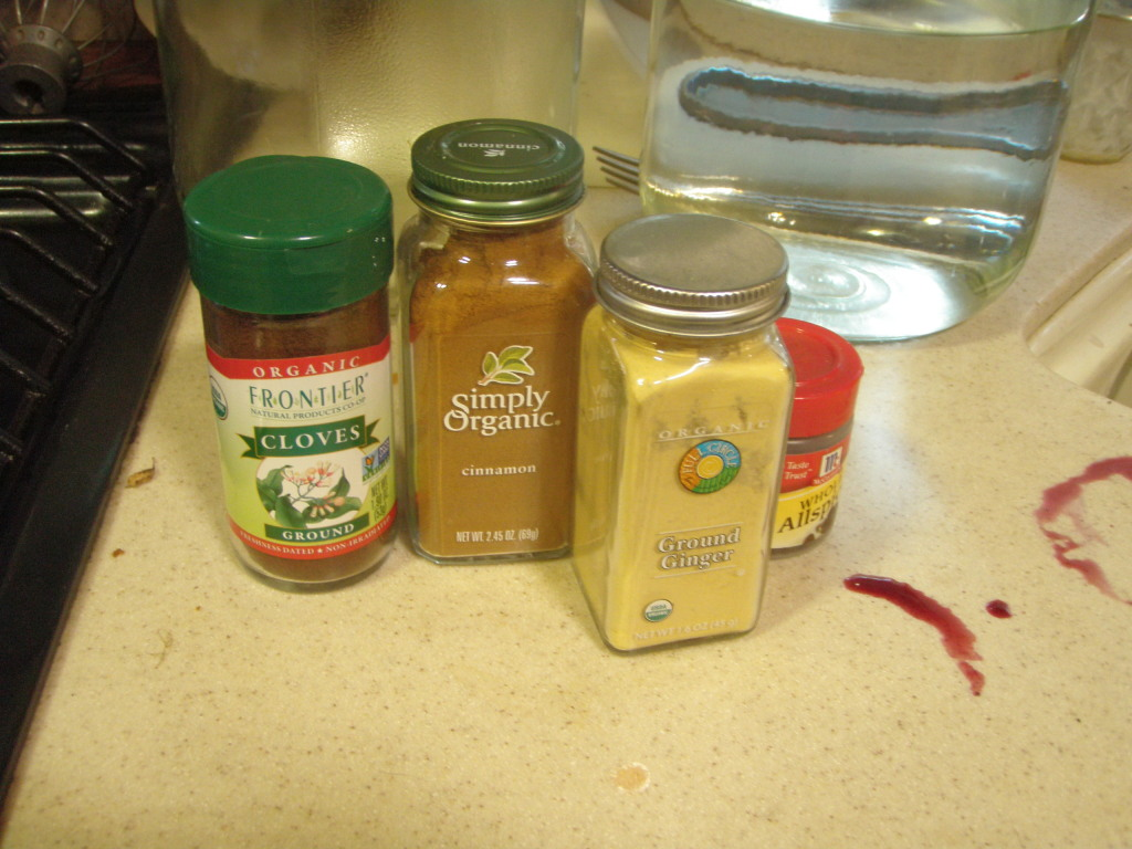 Use organic spices if possible; conventional spices have usually been irradiated.
